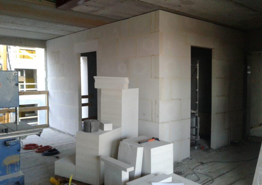 Strandgården – block works | GS Seacon Group ApS