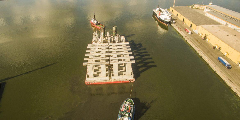 Visby cruise ship quay   GS Seacon Group ApS